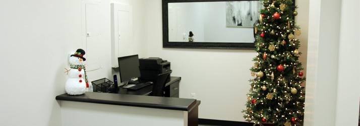 Chiropractic Aliso Viejo CA Receptionist Desk